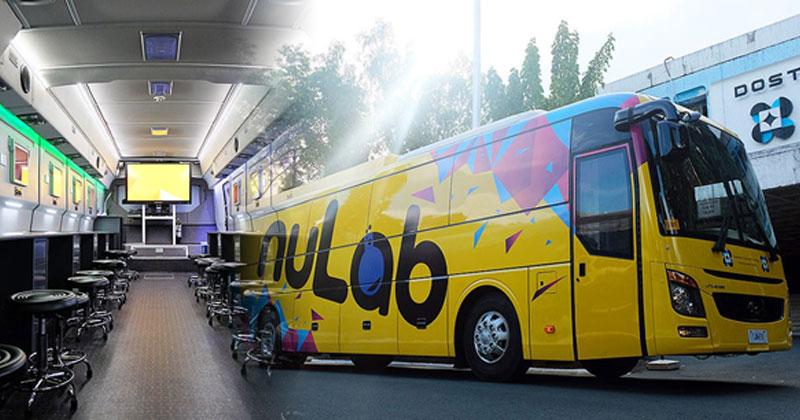 DOST SEI nuLab smart science bus in Iloilo City.