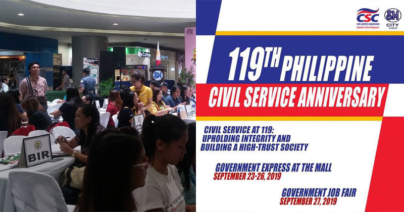 CSC 6, gov't agencies bring Government Express at the Mall
