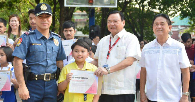Matthew Defensor, son of ICPO director  Senior Superintendent Martin Defensor, won World Star and gold trophies.