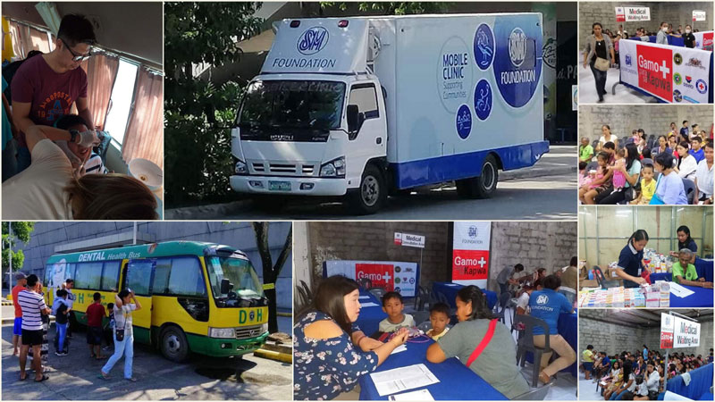 SM Foundation conducts medical-dental mission at SM City Iloilo