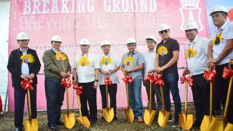 SMB breaks ground Iloilo brewery