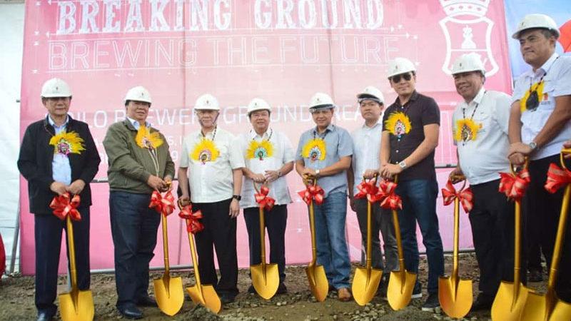 SMB breaks ground Iloilo brewery