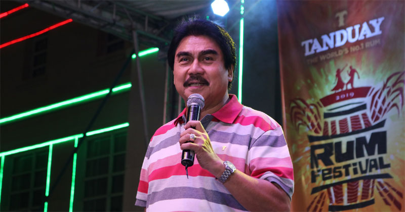 Mayor Bing Leonardia during Tanduay Rum Festival in Bacolod.