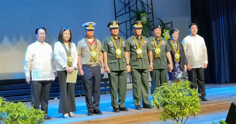 CPU Alumni Association honors 6 Centralian Generals