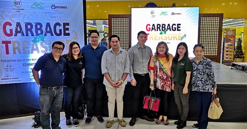 GT Town Center Garbage to Trash initiative