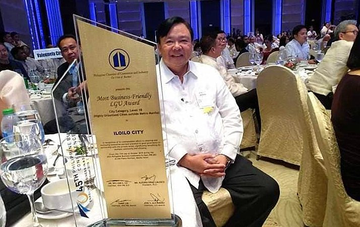 Iloilo City wins Most Business-Friendly LGU award