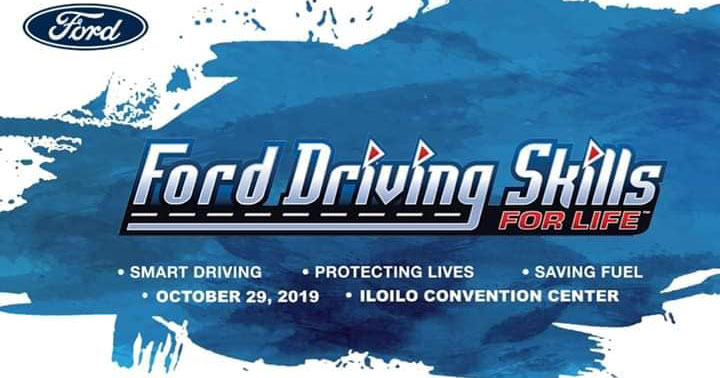 Schedule of Ford Driving Skills for Life program in Iloilo City.