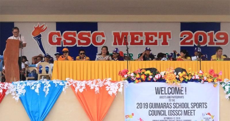 2019 Guimaras Schools Sports Council Meet (GSSCM) Opening Ceremony