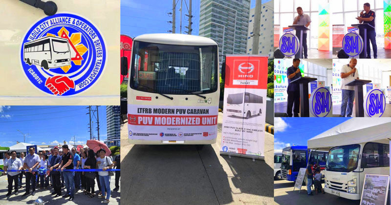 Modern PUV Caravan kicks off in Iloilo City