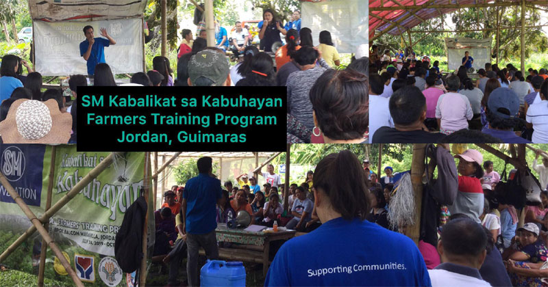 SM Foundation conducts farmer training and forum in Guimaras.