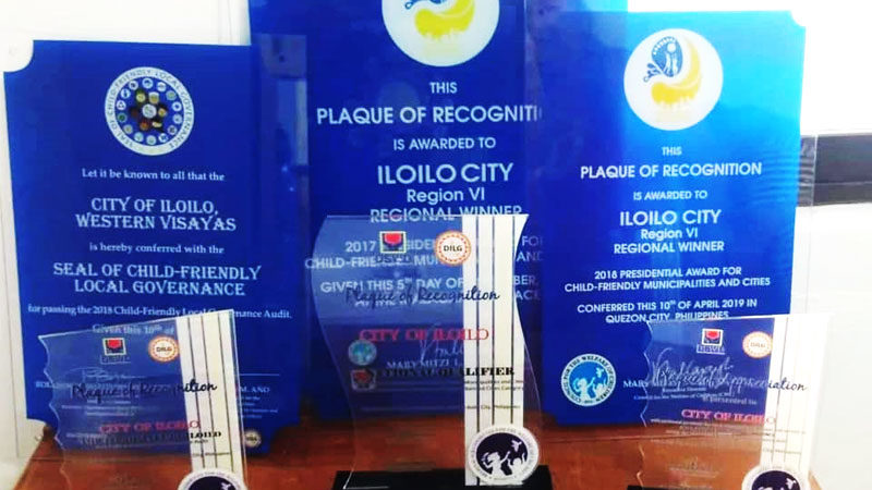 Iloilo City wins child-friendly awards