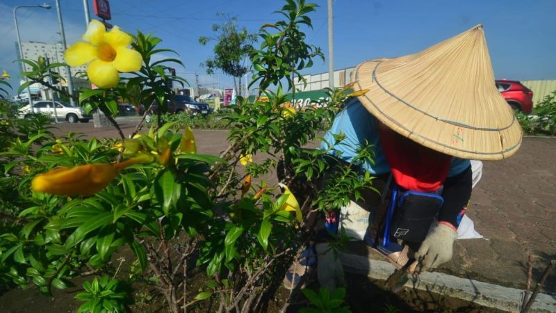 345 workers boost Iloilo City beautification program