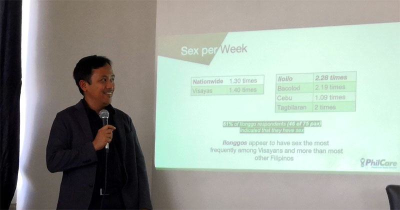 Ilonggos have the best sex life, according to 2019 Philcare Wellness Index.