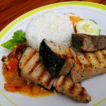 Food at Rosma Beach Resort.