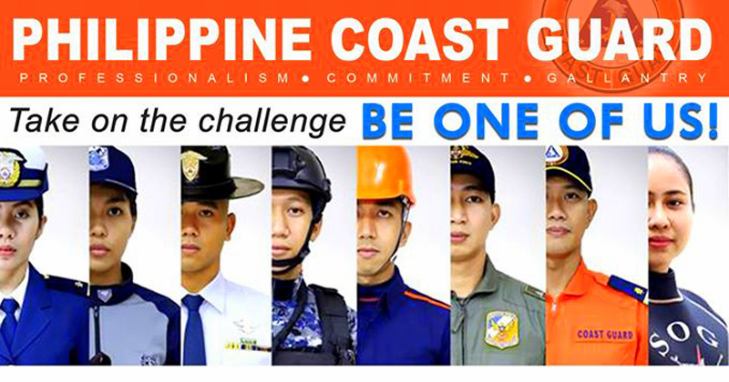 Philippine Coast Guard to recruit 4,000 officers and personnel, starting salary at ₱51,000
