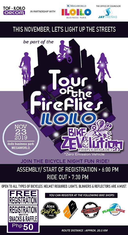 tour of the fireflies 2019