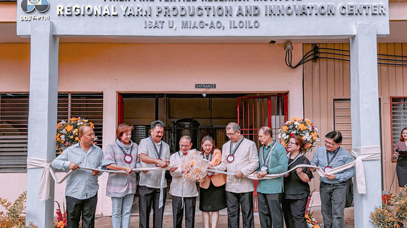 DOST launches Yarn Center in Miagao