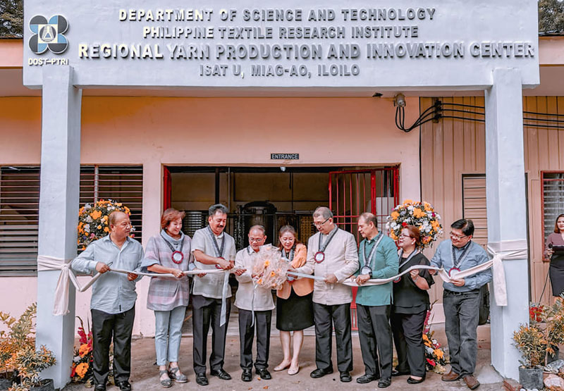 DOST launches Yarn Center in Miagao.