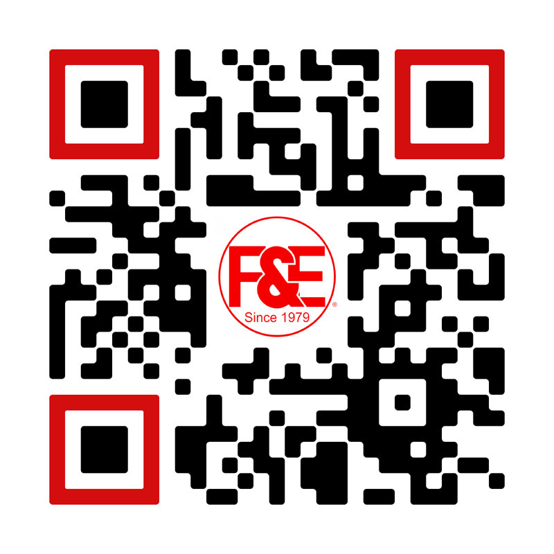 FandE Website QR Code