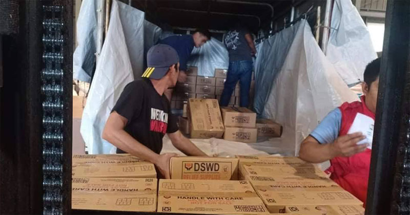 DSWD food packs for Capiz, Aklan