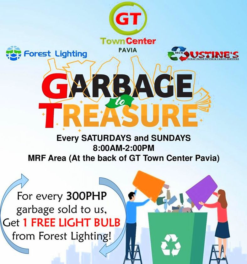 GT Town Center Pavia Garbage to Treasure project.