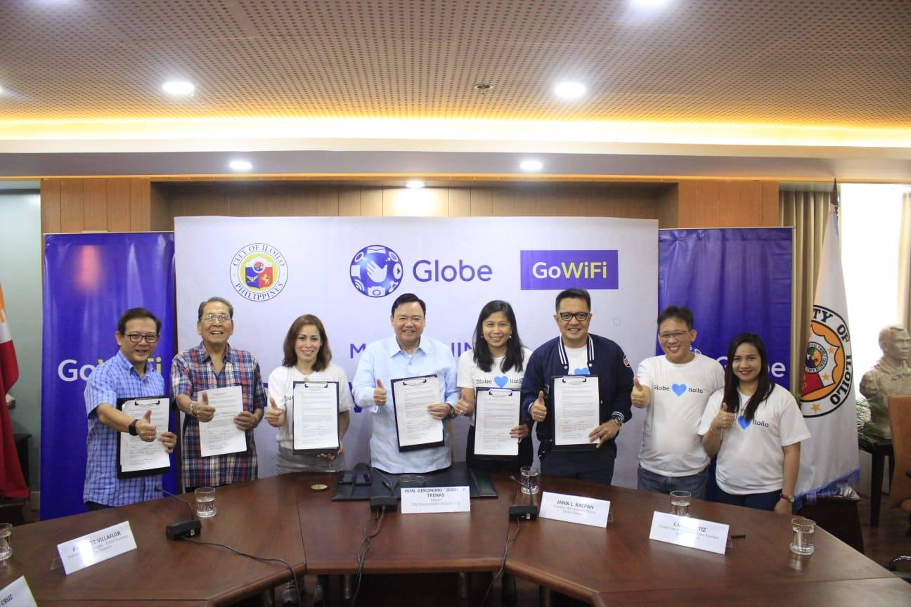 City Gov't partners with Globe for fast, free Wifi in Iloilo City