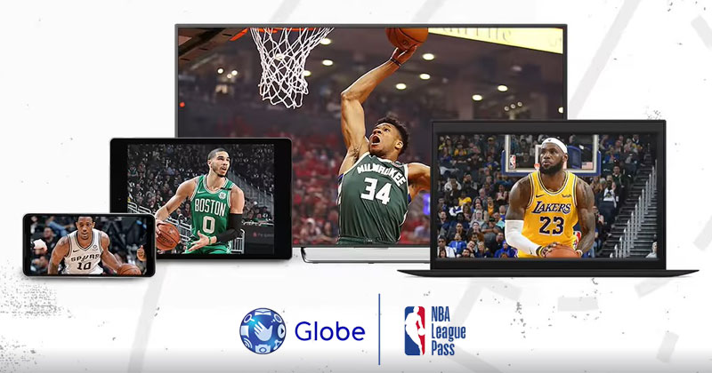 Globe NBA League Pass promos this December.