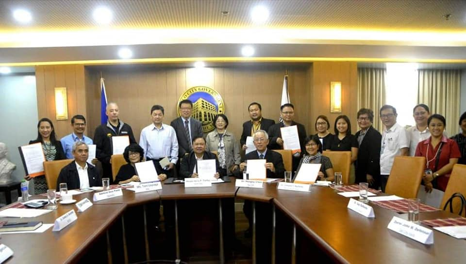 Iloilo City gets disaster preparedness aid from Taiwan.