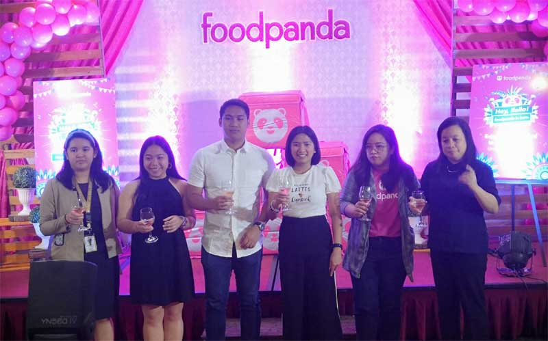 Launching of foodpanda Iloilo, graced by City Councilor Love Baronda and partner vendors.