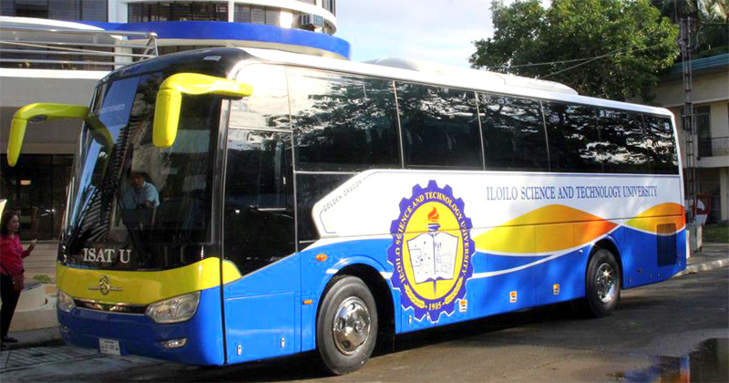 Free bus ride for ISAT-U students, personnel