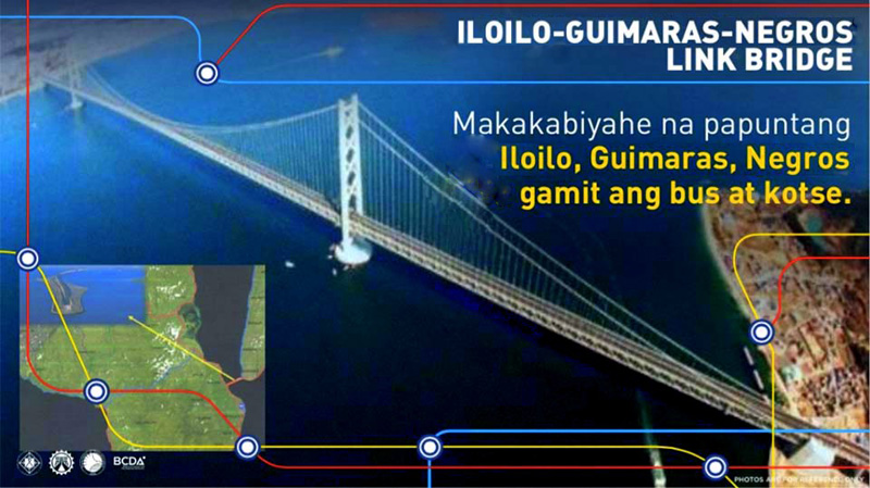 Panay Guimaras Negros Bridge Project that will connect Western Visayas islands.