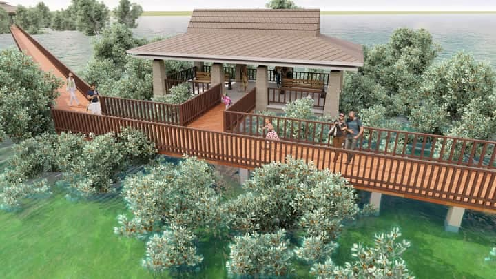 Gazeebo and Rest Area