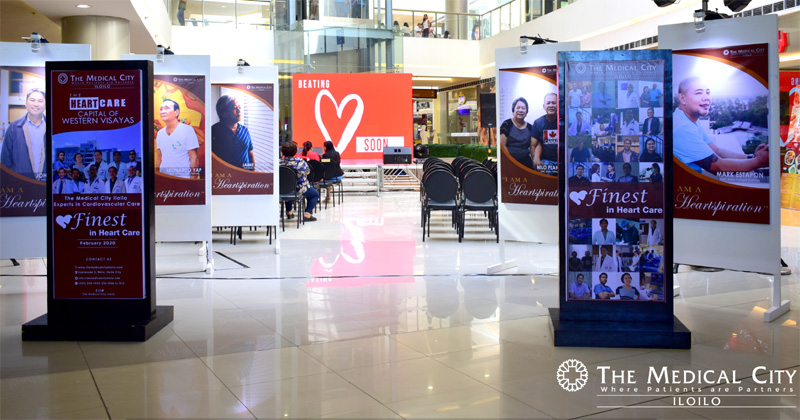 TMC Iloilo HeartSpiration Exhibit at SM City Iloilo