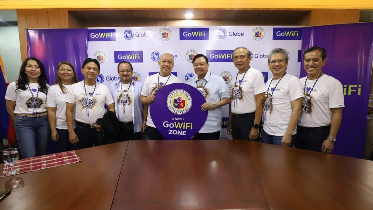 Globe ties up with Iloilo City in deploying more affordable WiFi services.