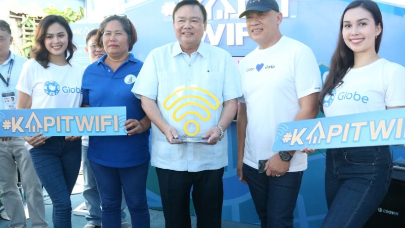 Globe powers Iloilo City with KapitWiFi and GoWiFi internet services