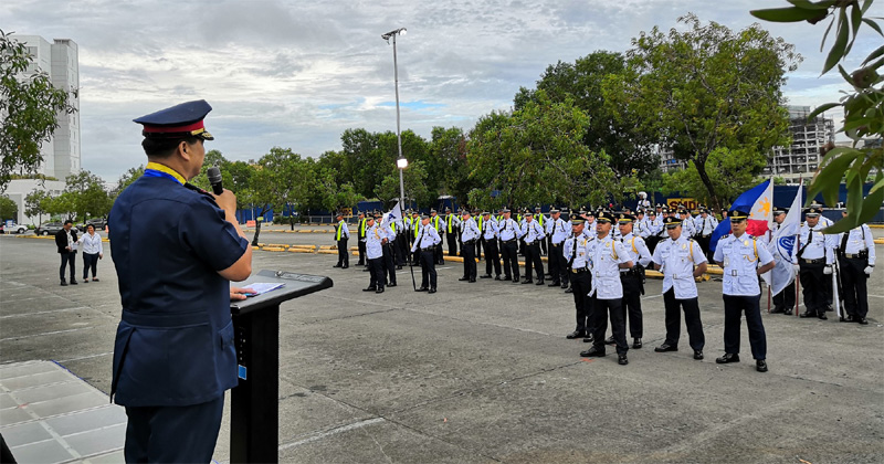SM City Iloilo holds 13th Joint Tactical Inspection of security personnel