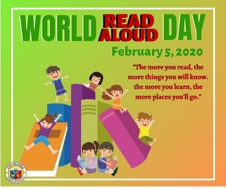 world read aloud day in iloilo city