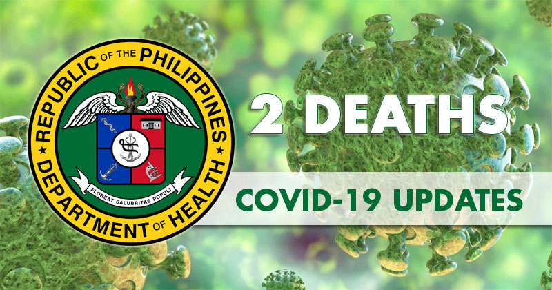 DOH reports 2nd death due to COVID-19