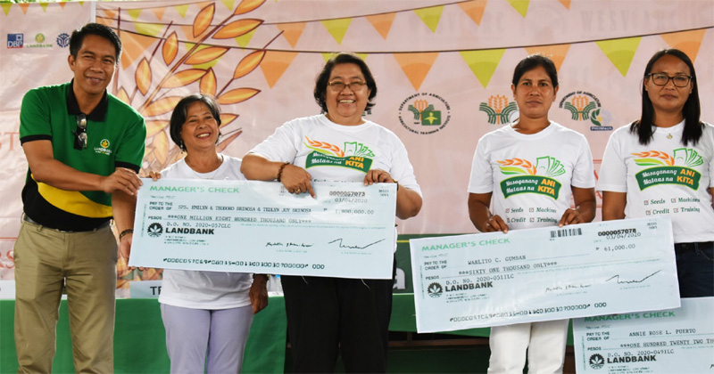Department of Agriculture farmer's fund in Western Visayas.