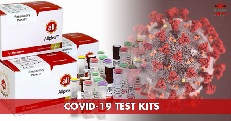 100 COVID-19 test kits arriving in Iloilo City today