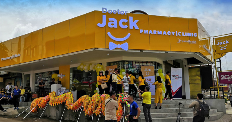 Doctor Jack Pharmacy and Clinic opens at Guimaras