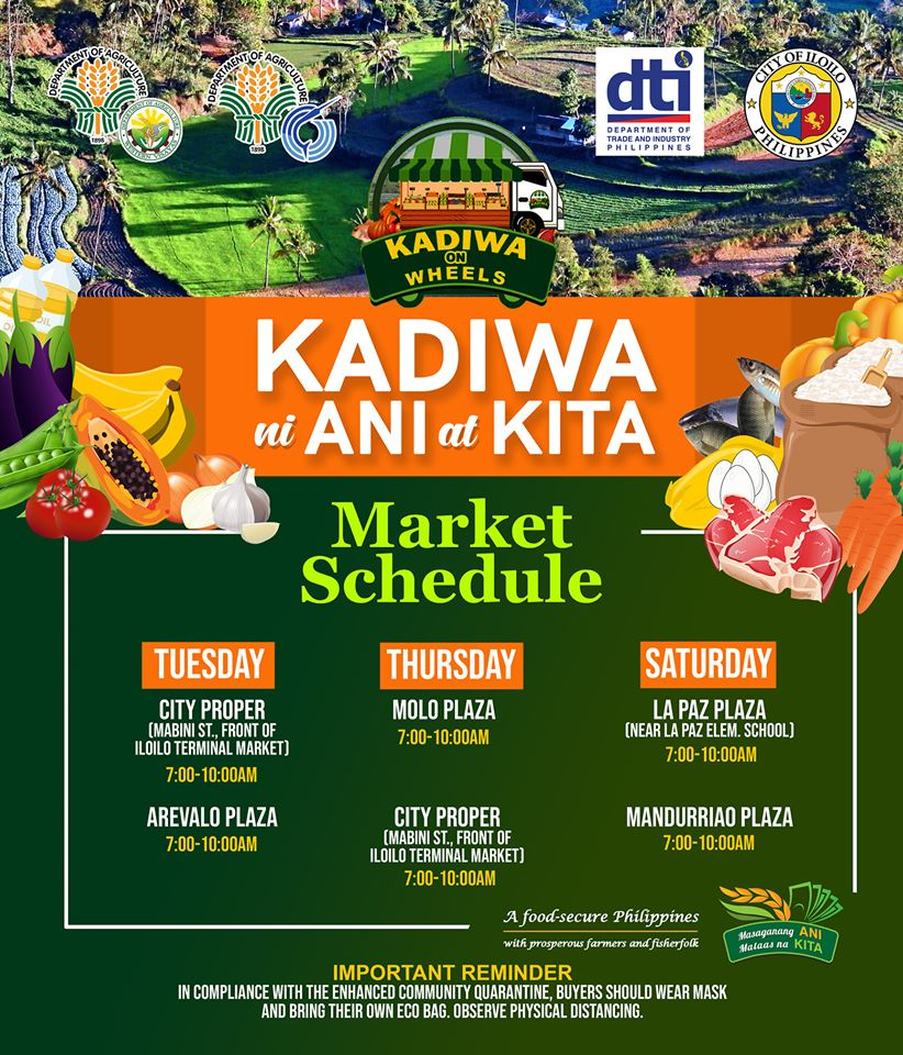 Kadiwa on wheels schedule
