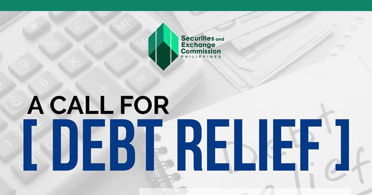 SEC encourages lending and financing companies to extend debt relief to borrowers