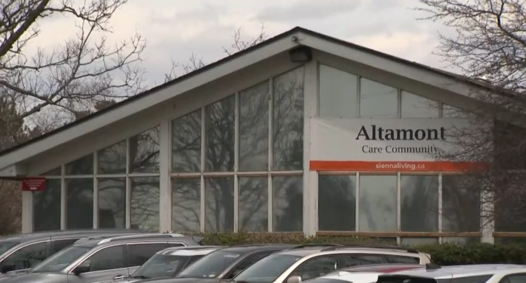Altamont Care Community in Ontario, Canada.