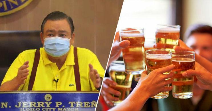 Mayor Jerry Treñas reimposes liquor ban in Iloilo City.