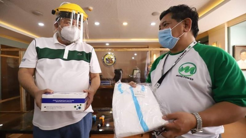 MORE Power donates 800 rapid test kits to Iloilo