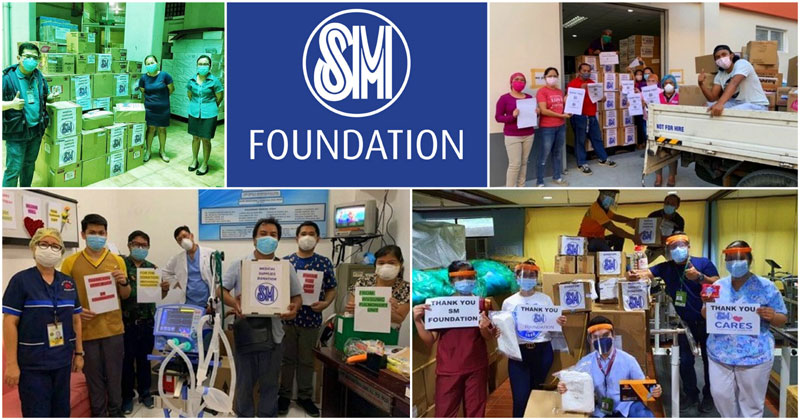 SM Foundation donates PPEs to hospitals in Vis-Min