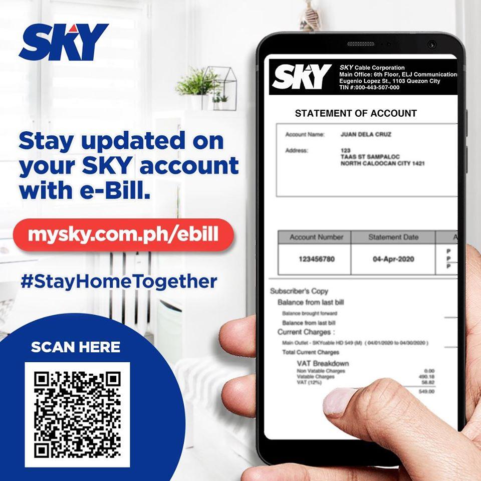 Sky Cable E-Bill