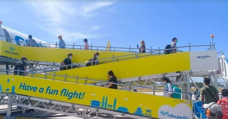Cebu pacific contactless flights in new normal.