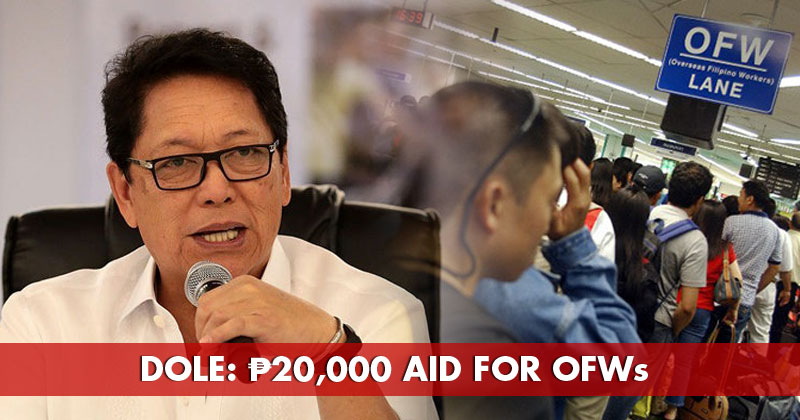 DOLE will give P20,000 livelihood assistance to OFWs